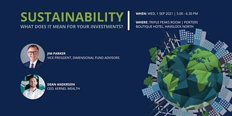 The Future & Growth of Sustainable Investing tickets