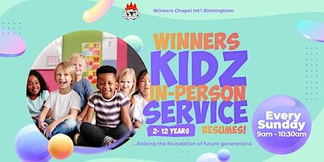 WINNERS KIDZ SUNDAY SERVICE REGISTRATION | WINNERS CHAPEL INT'L BIRMINGHAM tickets