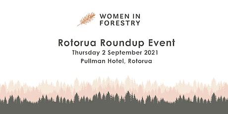 Women in Forestry - Rotorua Event - Thursday 2nd September tickets