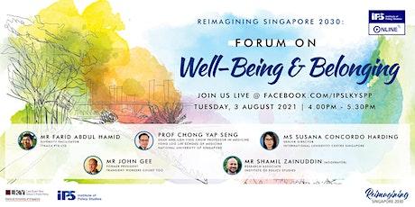 IPS Online Forum on Well-Being and Belonging biglietti