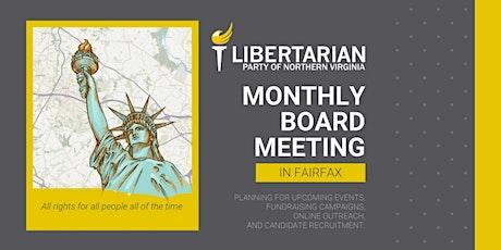 LPNOVA Board Meeting tickets