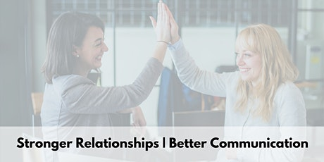 Create Effective Communication With DISC to Build Strong Relationships (SF) tickets