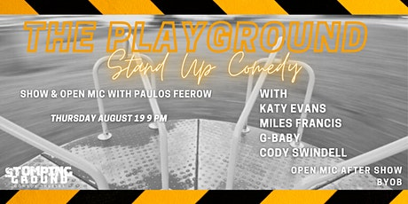 The Playground: Stand Up Comedy Show & Open Mic tickets
