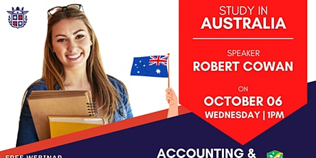 FREE WEBINAR: ACCOUNTING & BOOKKEEPING WITH EINSTEIN COLLEGE AUSTRALIA tickets