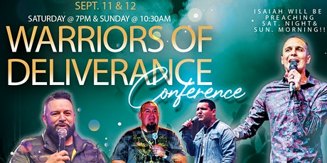 WARRIORS OF DELIVERANCE tickets