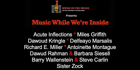 Music While We're Inside Free Concert on Sunday, August 15th at 6PM tickets