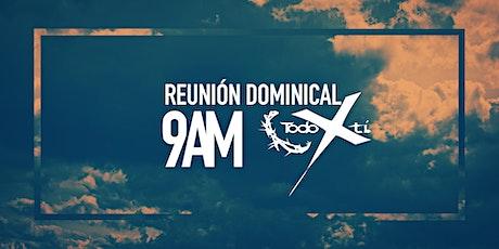 Reunión dominical - primera sesión - 1 de agosto de 2021 boletos