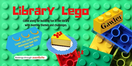 Library Lego: Food tickets