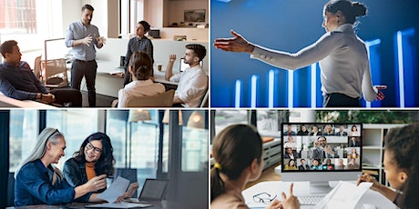 Crucial Speaking Skills for Work & Business (3-Session Hybrid Course) tickets