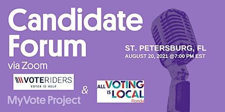 St. Petersburg Candidates' Forum tickets