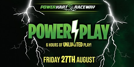 Power Play - 6 Hours of Free Play! tickets
