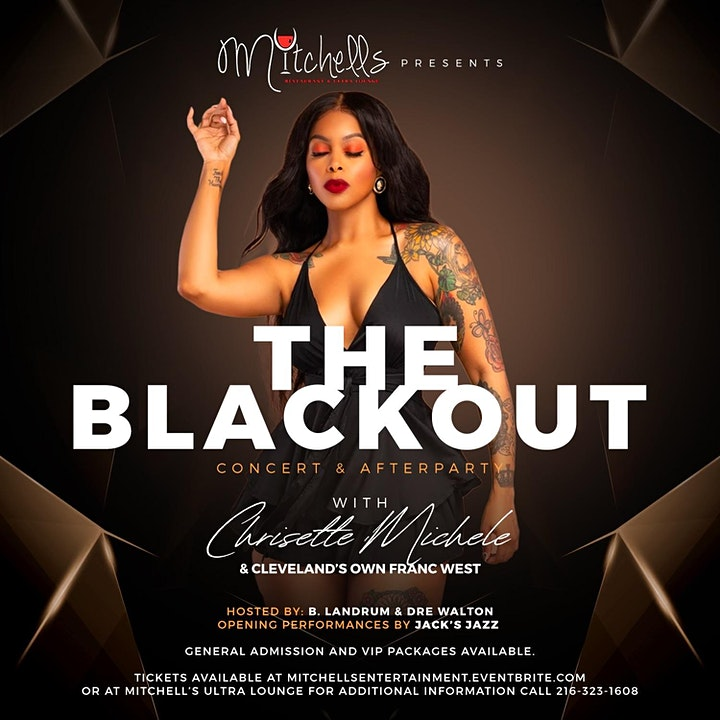 Mitchell's Ultra Lounge Presents... The Sultry Chrisette Michele LIVE image