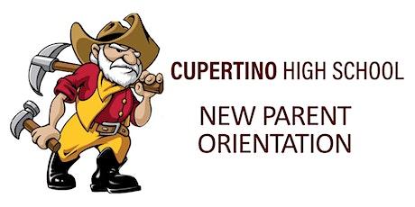 New Parent Orientation tickets