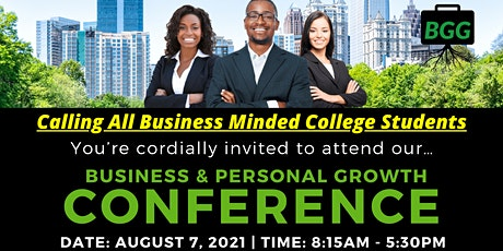 Business & Personal Growth Conference in Atlanta, GA tickets