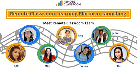 Meet Remote Classroom Team: Learning Platform Launching tickets