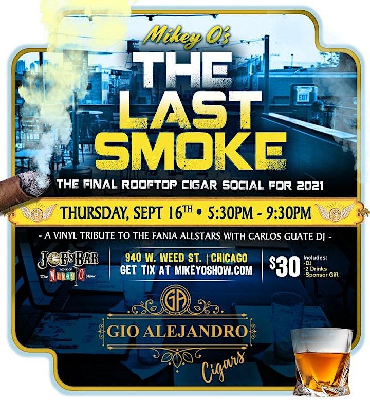 The Final Smoke -  ROOFTOP Cigar Social image