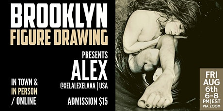 Brooklyn Figure Drawing Tuesday Live Session Tickets  -  Alex tickets