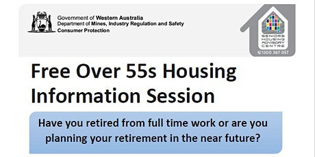 Free 55+ Housing Information Session tickets