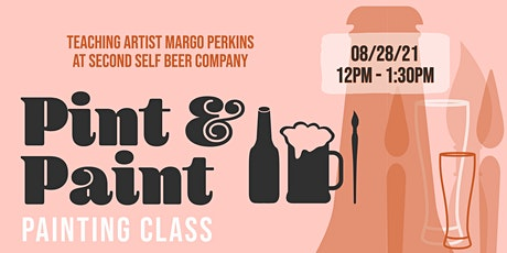 Pint & Paint  Painting Class at Second Self Beer Company tickets