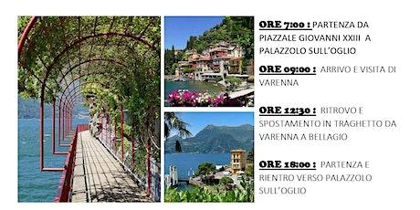 Varenna e Bellagio: una passeggiata romantica sul lago di Como biglietti