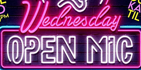 Wednesday Open Mic Night at The Grand El Cajon  - 8/4 - 8:30 pm tickets