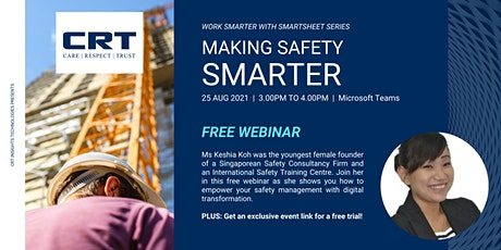 Making Safety Smarter with Smartsheet tickets