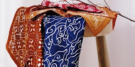 印尼傳統Batik蠟染工作坊 tickets