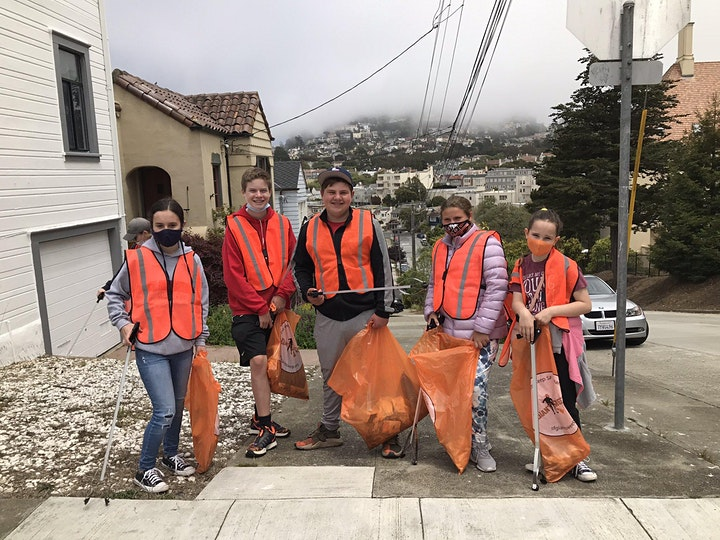 Masonic Avenue Cleanup image