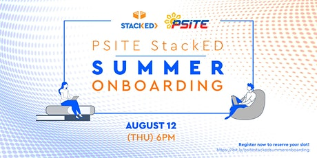 PSITE- StackED Onboarding (Hands-on) tickets