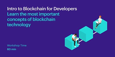 Intro to Blockchain for Developers Tickets