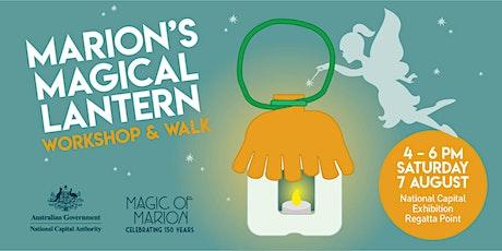 Marion's Magical Lantern | Workshop & Walk tickets