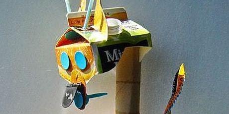 School holiday activity - Making puppets from upcycled materials! tickets