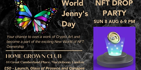 NFT Drop Party for World Jenny's Day Collection tickets
