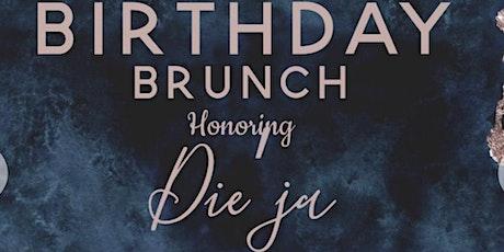 Dieja's Sunday Brunch & Day Party biglietti