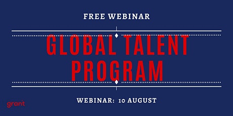 Global Talent Program FREE Webinar tickets