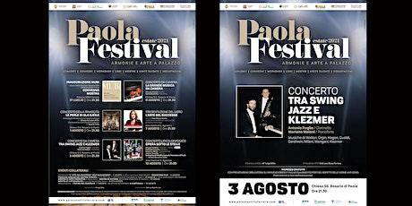 Paola Festival-TRA SWING JAZZ E KLEZMER biglietti