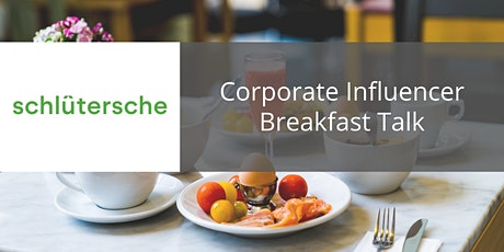 Corporate Influencer Breakfast Talk entradas