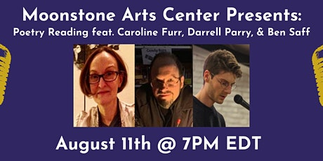 Online Poetry Reading on August 11th tickets