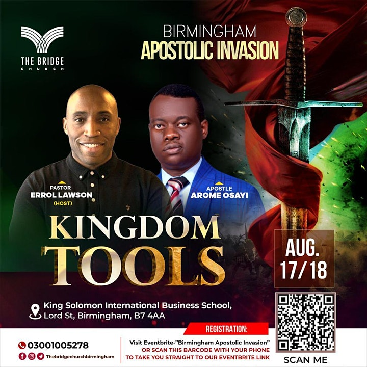 Birmingham Apostolic Invasion image