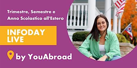 InfoDay Gratuito Sull'Anno Scolastico All'Estero - Piacenza 07/10/2021 biglietti