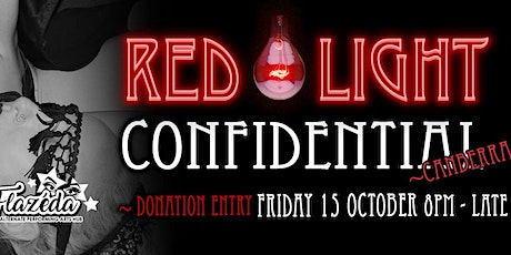 Red Light Confidential Canberra tickets