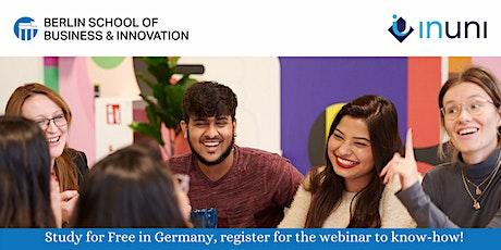 BSBI - Study at BSBI in Hamburg, Germany for free   |t.me/InUni_BSBI tickets