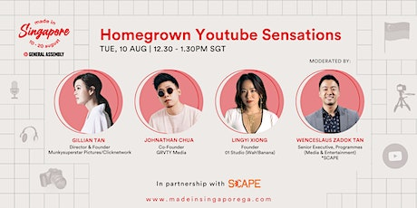 Made in Singapore: Homegrown Youtube Sensations tickets