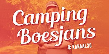 Theatervoorstelling Boesjans op de camping bij Kanaal30 tickets