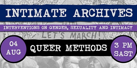 Intimate Archives: Queer Methods tickets
