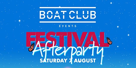 Boat Club Festival After Party @ Play House, Epping tickets