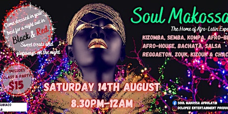 SOUL MAKOSSA BLACK & RED PARTY tickets