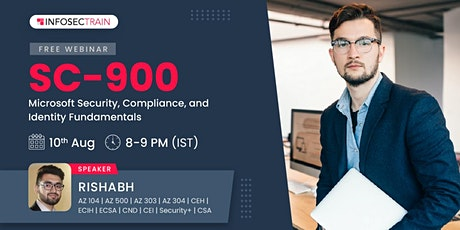 Free Webinar  SC-900 Microsoft Security, Compliance, and Identity Fundament tickets