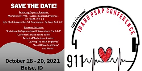 9th Annual Idaho PSAP Conference tickets