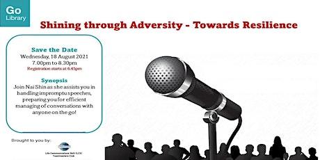 Shining Through Adversity - Towards Resilience tickets